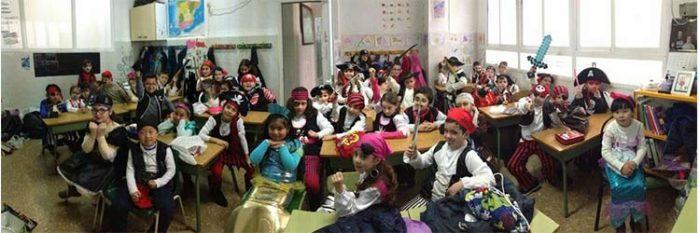 Carnaval 2017 en el colegio Liceo Corbí