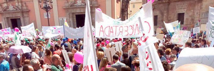 manifestación 6 de mayo valencia