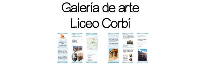 Galería de arte del colegio Liceo Corbí